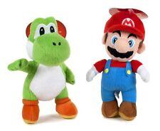 Super Mario Bros. 1 o 2 peluches Mario y Yoshi 27 cm peluche Nintendo 011055