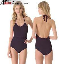 sexy halter one piece swimwear/swimsuit