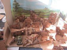 20mm échelle ruines de bâtiments maison usines pour wargamming paysage