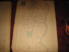 Rare 1867 Harlem Upper East New York City Nyc Map Atlas