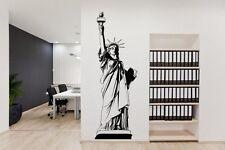 USA Statua della Libertà-INCREDIBILE Decalcomania In Vinile Adesivi Da Parete più alta qualità nuovo Regno Unito