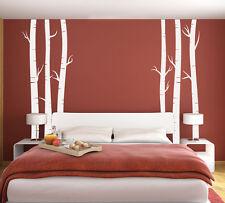 Wall Art Tree T5 LRG MIRR Birch Vinyl Decor Decal Sticker Mural Decoration T5C