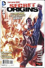 The New 52 Secret Origins #1-3 2014 DC Comics Free Bag/Board [Choice]