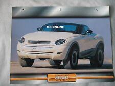 Heuliez Intruder Dream Cars Card