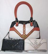 GUESS Marysa Bag Purse Handbag Satchel Sac Wallet Wristlet Organizer Set New