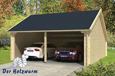 Garage Holz garagen aus holz mit 46 70 mm wandstärke günstig kaufen ebay