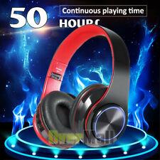 Wireless bluetooth Headphones Foldable Stereo Headset LED Earphone Super Bass