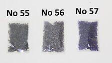 Bolsa De Semilla Cuentas Azul Metálico Morado Dos Tonos Artesanía Coser joyas 11/0 2.1mm