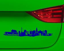 Innsbruck Aufkleber Skyline Collage  11 Farben 2 Größen