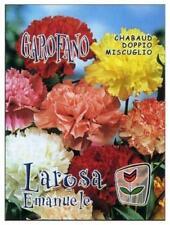 100 Semi/Seeds GAROFANO Chabaud Doppio Miscuglio