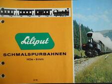 Catalogo Liliput HO 1970 - DEU