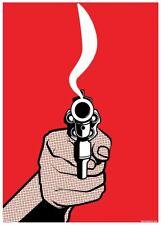 Smokin' Gun Mini Poster 32x44cm