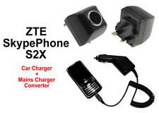 Red Cargador para el Skypephone S2x / Skype teléfono s2-x teléfono móvil