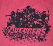 MARVEL T-Shirt Avengers Superhero Age of Ultron Men's WELOVEFINE Tee