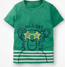 Mini Boden boys tshirt cool animal monkey 2 3 4 5 6 7 8 9 10 11 12 y RRP $26