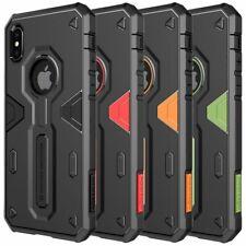 Apple iPhone Xs X NILLKIN Defender II Trekking Handy Cover Schutzhülle Stoßfest