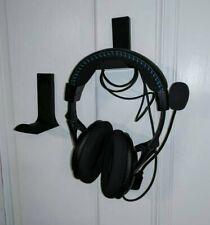 DAMAGE-FREE Headphone Stand/Mount Kit, Headset Display, Earphone hook, Headphone