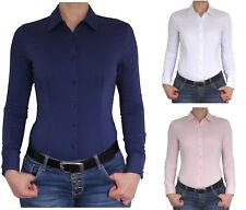 Bodybluse, Blusenbody, Bluse langarm in verschiedene Farben und Größen