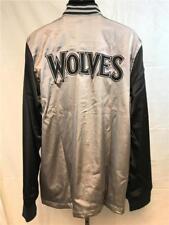 Minnesota Timberwolves Mens L-XL-2XL-3XL-4XL-5XL+2 On Court 2nd Half Jacket $100