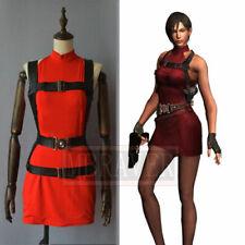 BIOHAZARD 2 / Resident Evil 2 Heroine Ada Wong Cosplay Costume Dress