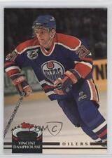 1992-93 Topps Stadium Club #191 Vincent Damphousse Edmonton Oilers Hockey Card