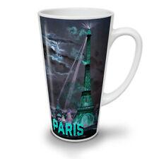 Città di Parigi NOTTE FASHION NUOVO white tea caffè latte Tazza 12 17 once | wellcoda