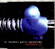 AUDIO 2 CD single 1 traccia PROMO 1996 E TUTTO PIU GRANDE made in Italy PDU MINA