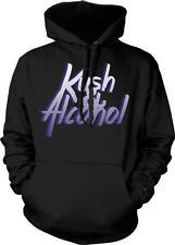 Kush & Alcohol Party Music Lyrics Kickback Turnt Up Swag Hoodie Pullover