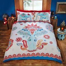 Elephant Bedding Set EthnicTraditional Indian Asian Multi Single Double King