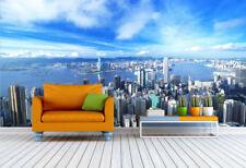 3D Sunny Hong Kong 204 Wall Paper Print Decal Wall Deco Indoor wall Murals Home
