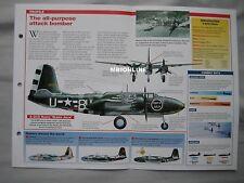Aircraft of the World Card 7 , Group 11 - Douglass A-20 Boston/Havoc