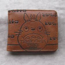 My Neighbor Totoro money clip Bifold Men Wallet Credit Card Holder Coin Purse