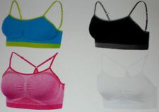 Damen SPORTBUSTIER Sportive Seamless Shapewear Bustier Light Level Gr.S M L NEU
