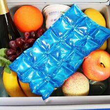 Reusable Flexible Ice Pack Fridge Freezer Summer Cool Lunch Box Travel Cooler