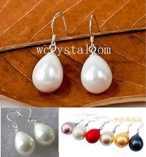 Nice Drop Teardrop Natural Sea Shell Pearls  Earrings Wholesale Lot