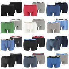 Puma Basic Boxershorts Boxer Short Unterhosen Herren Trunks 2er 4er 6er 8er 10er