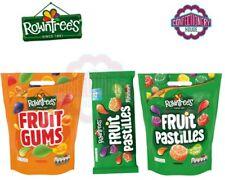 NESTLE ROWNTREES FRUIT GUMS BAG FRUIT PASTILLES FULL SIZE TUBES 52.5G NEW STOCK
