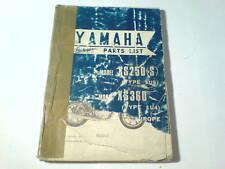 Ersatzteilliste / Spare Parts List Yamaha XS 250 / XS 360 Stand 12/1976