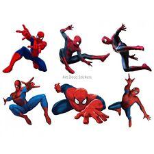 Pegatinas niño hoja de pegatinas Spiderman ref 15128