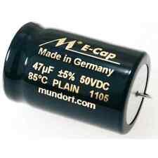 Mundorf ECAP ac Plain aluminio-electrolíticos liso