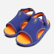 Ralph Lauren Neoprene Blue & Orange Summer Kids Shoes
