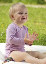 Long sleeve baby body vest Organic merino wool and silk by Engel