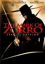 MARK OF ZORRO (DVD, 2005, BW/Colorized) NEW