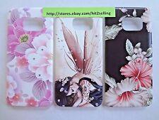 Samsung S7 Edge Pink Flower Girl 2D Case Bling Crystal Rhinestone USA Seller!