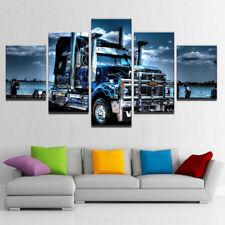 American Truck Heavy Haulage 5 Piece Canvas Print Wall Art