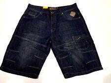 Hommes Longueur Genou Jeans Coton Été Léger Quelques Courts Métrages Taille 30