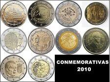 2 EURO CONMEMORATIVOS 2010 - TODOS LOS PAISES