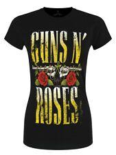 Guns N Roses T-shirt Big Guns Women's Black