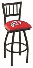 "Utah Utes HBS Red ""Jail"" Back High Top Swivel Bar Stool Seat Chair"