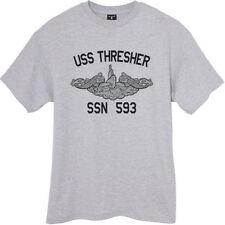 US Navy USS Thresher SSN-593 Submarine T-Shirt